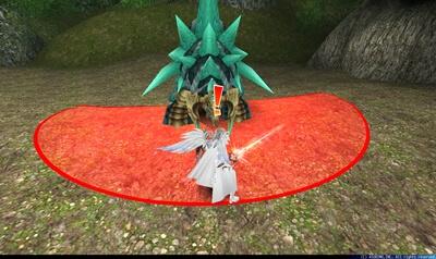 岩竜フェルゼン - 扇状赤床