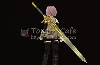 黄金の装飾大剣