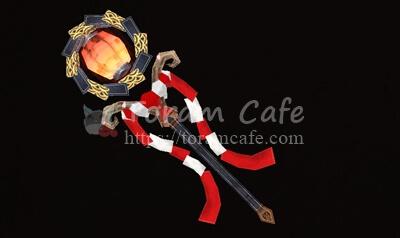 桜花灯の杖